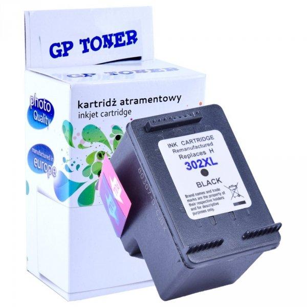 Zamiennik Tusz do HP 302XL DeskJet 1110 2130 3630 4520 3830 - GP-H302XLBK Czarny