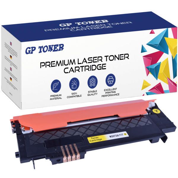 TONER DO HP COLOR 150NW MFP 178 117A W2072A Yellow