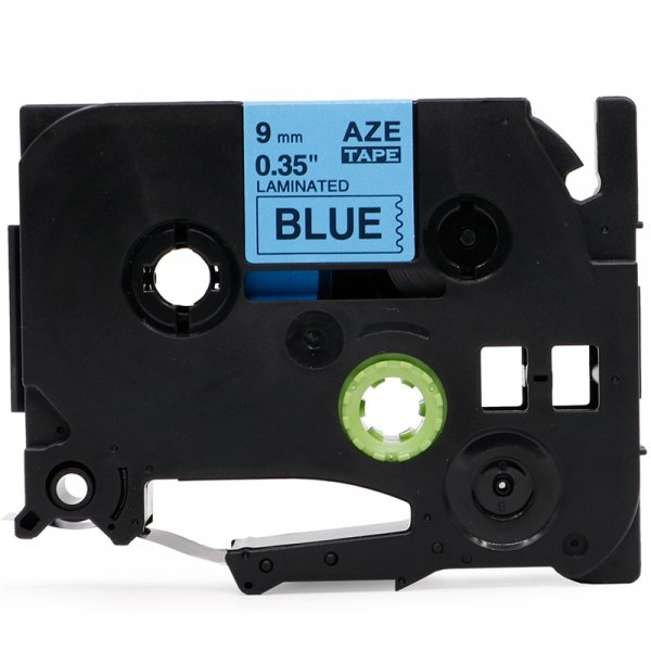 Taśma zamiennik do Brother TZ-521 Czarny na Niebieskim