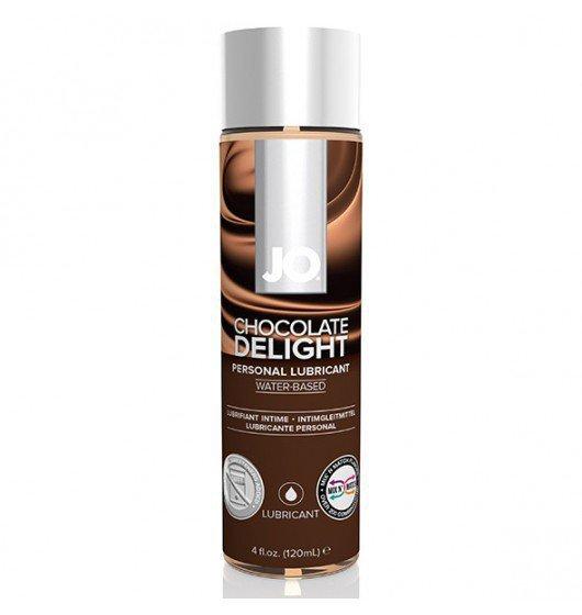 System JO - H2O wodny lubrykant smakowy czekoladowy 120 ml