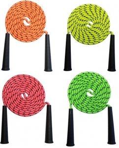 Kolorowa skakanka 4 wersje kolorystyczne 3 m