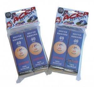 Piłki do tenisa stołowego 40 mm ze szwem