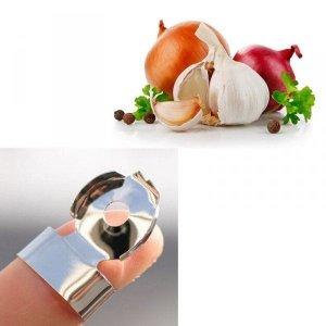 Szybka obieraczka na palec do czosnku i warzyw