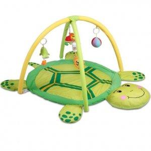 Kocyk do zabawy Żółwik, 122 x 90 x 53 cm