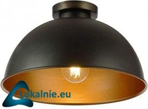 Lampa sufitowa z kloszem, 60 W, 220 - 240 V.