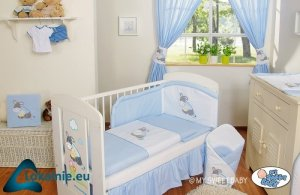 Pościel 3-cz Osiołek Lucek niebieski