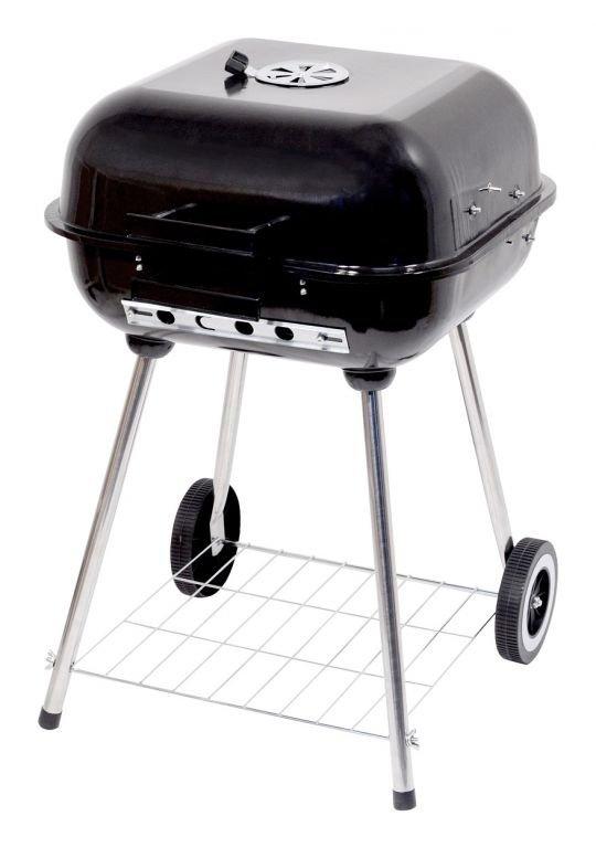 Grill węglowy prostokątny TRAPANI 46cm