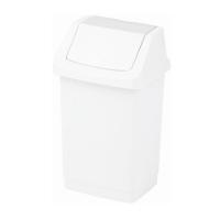 Kosz na śmieci Click-It 50L biały