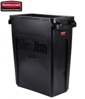 Kosz Slim Jim® With Venting 60L Black