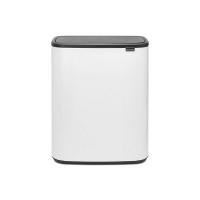 Kosz TOUCH BIN BO 2x30L White