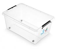 Pojemnik SimpleStore Box 40L z klipsami