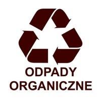 Etykieta do segregacji ODPADY ORGANICZNE
