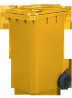 Pojemnik na odpady 240L żółty
