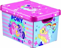 Pojemnik DECO'S STOCKHOLM L My Little Pony