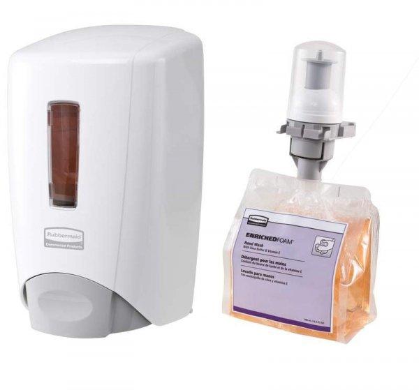 Dozownik mydła FLEX 500 biały