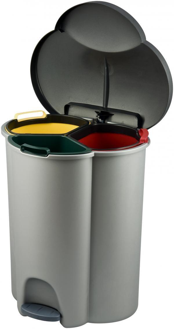 Kosz do segregacji odpadów TRIO 40L