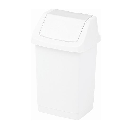 Kosz na śmieci Click-It 9L biały