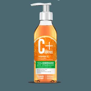 Żel-energizer do mycia twarzy z kompleksem przeciwstarzeniowym i witaminą C, 240ml