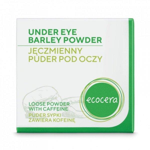 Ecocera Puder sypki pod oczy - jęczmienny z kofeiną 4g