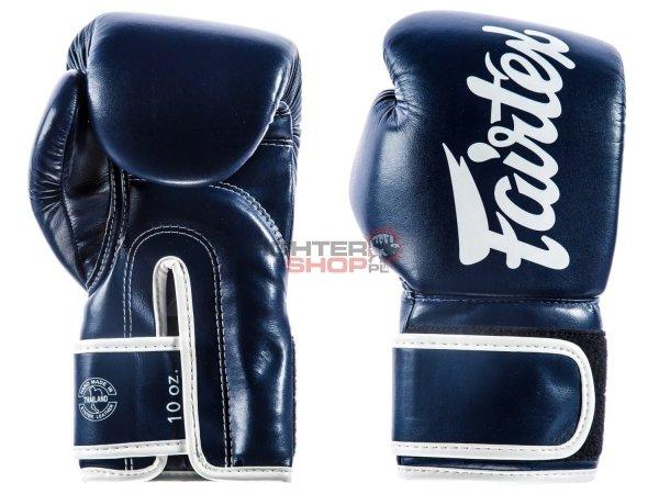 Rękawice bokserskie BGV14 MICROFIBER BLUE Fairtex