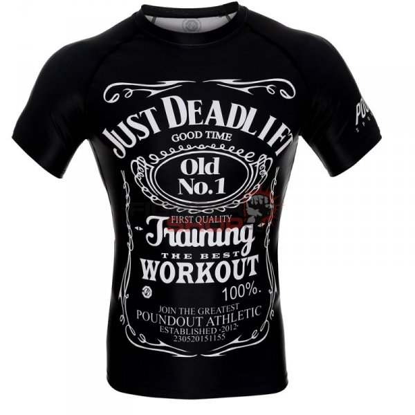 Rashguard męski JUST DEADLIFT Poundout