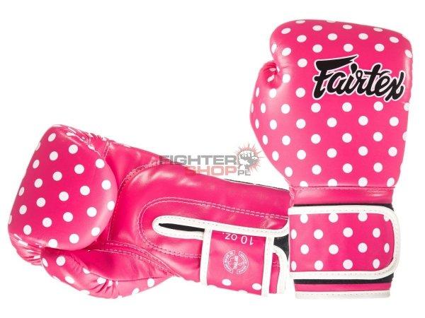 Rękawice bokserskie BGV14P VINTAGE ART - POLKA DOT Fairtex