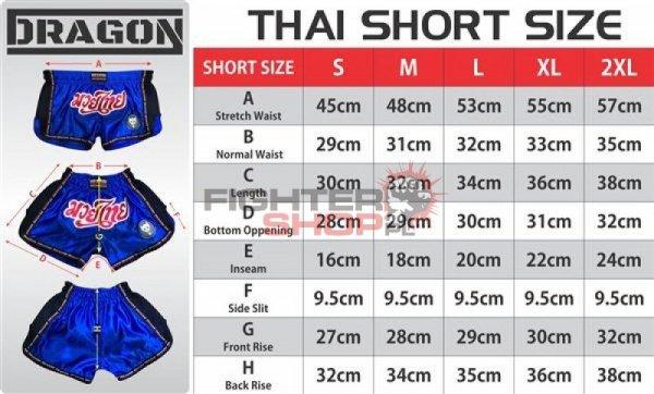Spodenki tajskie THAI Dragon
