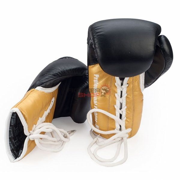 Rękawice bokserskie sznurowane NEVADA Professional Fighter