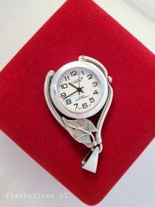 Zegarek ze srebra kod 40 zawieszka