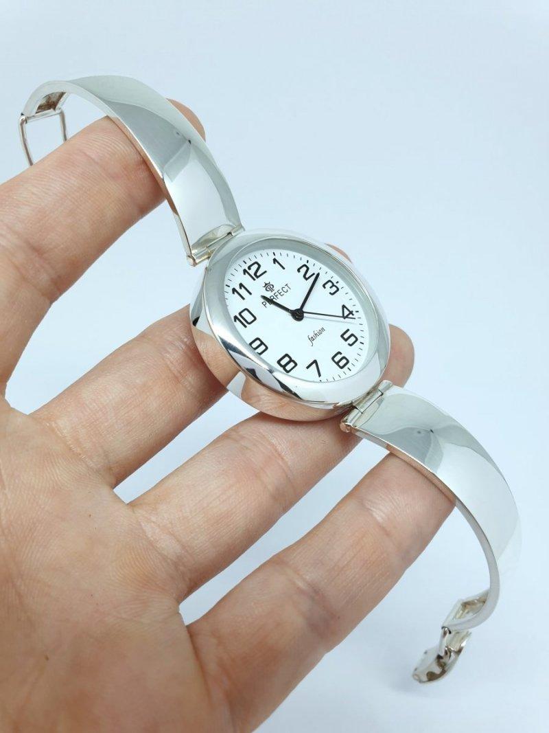 Duży Srebrny Zegarek kod 896