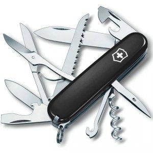 Scyzoryk Szwajcarski Victorinox Huntsman 1.3713.3 Czarny +pudełko