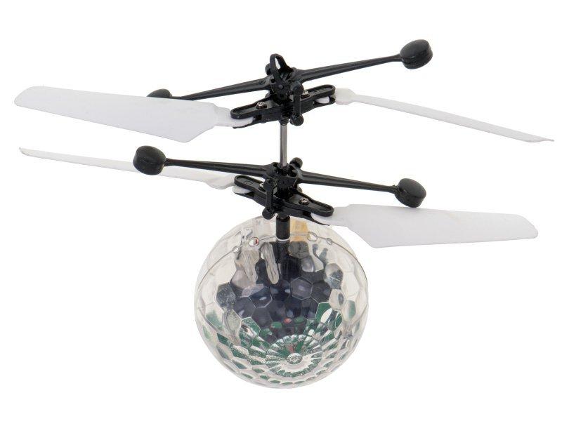Kula Disco LED latająca sterowana + czujnik