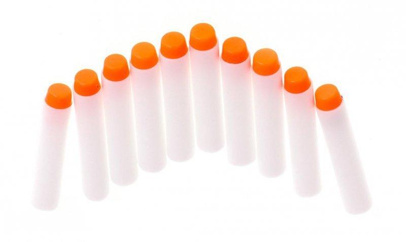 Strzałki do wyrzutni NERF fluorescencyjne 10sztuk