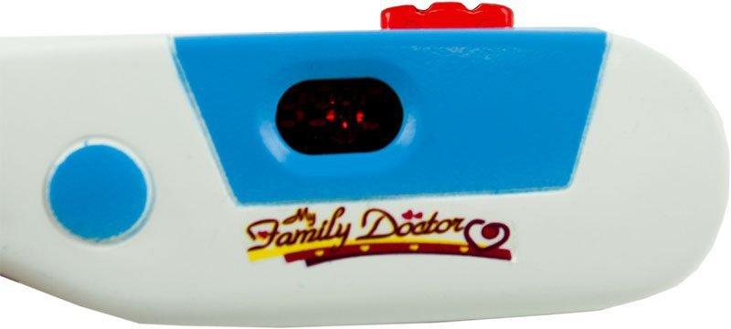 Zestaw lekarza w walizce DOKTOR +światła niebieski