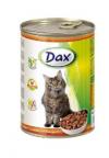 Dax Puszka dla kota 415g Kawałki z drobiem