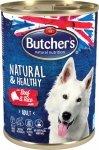 Butchers Natural&Healthy Wołowina ryż 390g