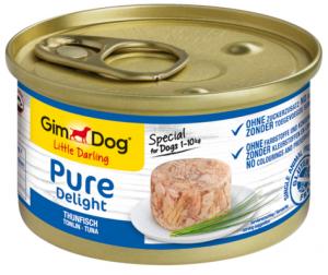 GimDog Pure Deli puszka dla psa z tuńczykiem 85g