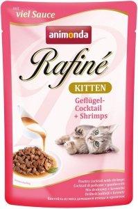 Animonda Rafine Kitten Drób Krewetki 100g