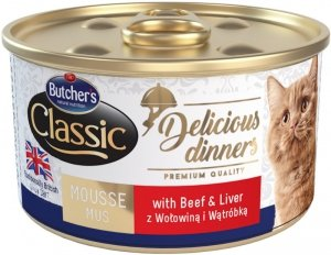 Butchers Delicious Dinners wołowina/wątróbka 85g