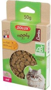 Zolux MOOKY BIO Cat Lovies kurczak 50g