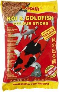 Tropical Pond Koi&Goldfish Colour stick worek 1l