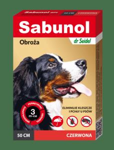 Sabunol  GPI Obroża czerwona 50cm