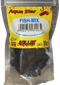 Aqua Star  Pellet haczykowy 12mm 50g Fish Mix