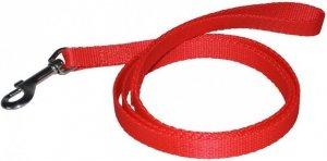 Chaba Smycz 1597 Taśma standard 12x1300 czerwona