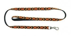 Chaba Smycz Taśma indiańska standard 10x1300 czarna