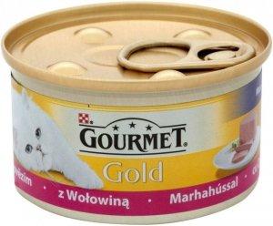 Gourmet Gold karma z Musem z wołowiną 85 gram