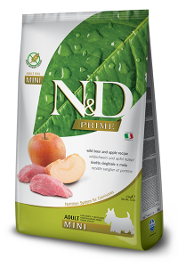 ND Dog NG Adult Mini 800g Boar&Apple