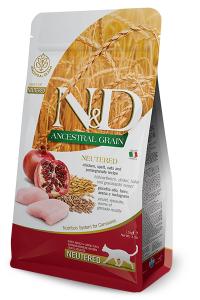 ND Cat LG Adult 1,5kg Neutered Chicken&Pomegranate