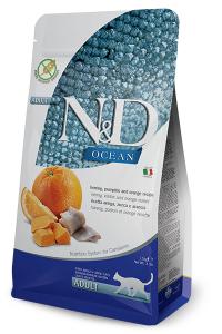 ND Cat Ocean Adult 1,5kg Herring&Pump&Orange