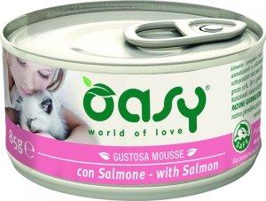Oasy Gustosa Mousse - Mus z łososiem 85g